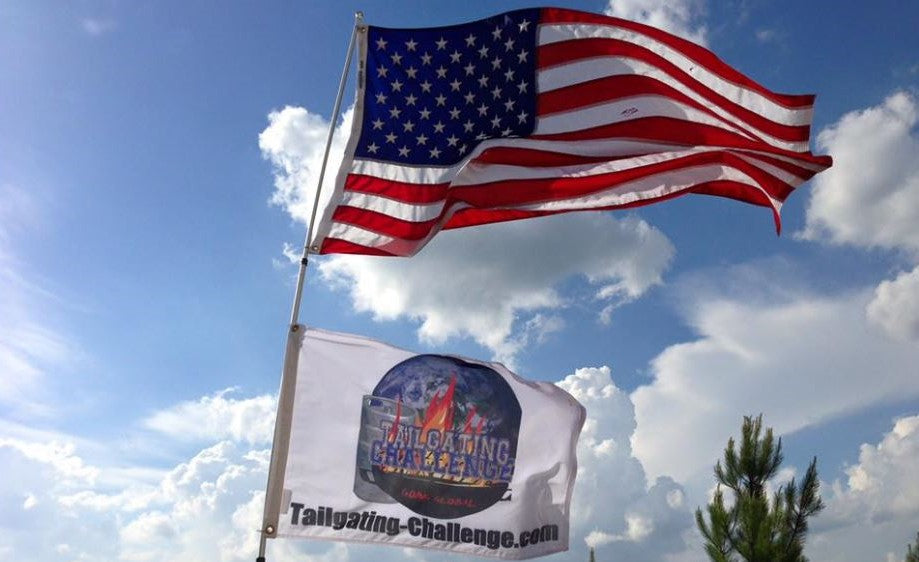 Pro Glow Sports Tailgating Challenge Flag