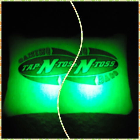 Tap N' Toss Green Bag Lights - Pro Glow Sports - 3