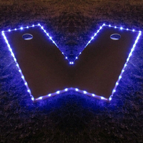 Cornhole Edge Lights Blue - Pro Glow Sports - 1