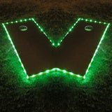 Cornhole Edge Lights Green - Pro Glow Sports - 1