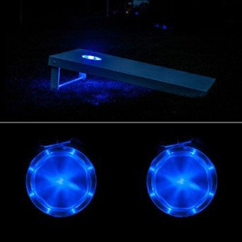 Corn Hole Lights Blue - Pro Glow Sports