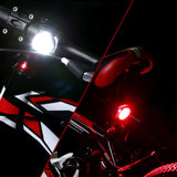 LE® Rechargeable LED Bike Light Set - Pro Glow Sports - 2