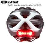 Blitzu Rechargeable Rear Tail Light - Pro Glow Sports - 3