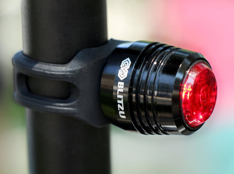 Blitzu RUBY Rechargeable Tail Light - Pro Glow Sports - 1