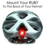 Blitzu RUBY Rechargeable Tail Light - Pro Glow Sports - 4
