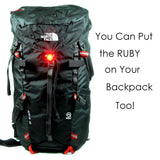 Blitzu RUBY Rechargeable Tail Light - Pro Glow Sports - 5
