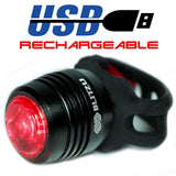 Blitzu RUBY Rechargeable Tail Light - Pro Glow Sports - 2