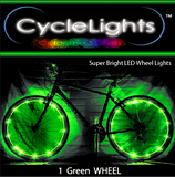 GREEN CycleLights 4.0 - Pro Glow Sports - 2