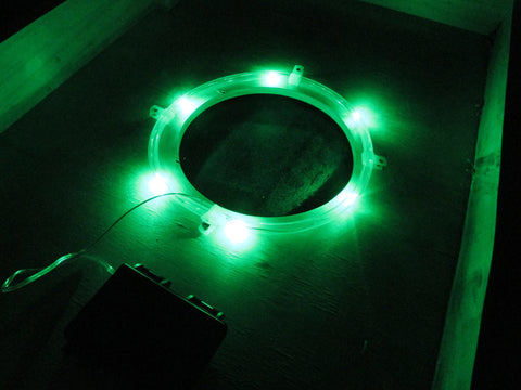 Pro Glow Hole Cornhole Lights Green