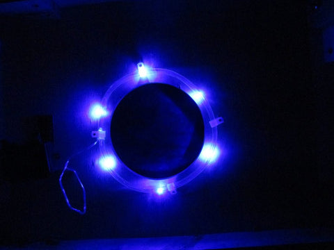 Pro Glow Hole Cornhole Lights Blue