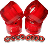 LED Skateboard Wheels Red - Pro Glow Sports - 2