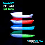 Glow n' Go LED Cornhole Bags (Red)