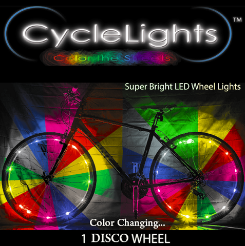 zDISCO CycleLights 4.0 - Pro Glow Sports - 1