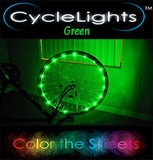 GREEN CycleLights 4.0 - Pro Glow Sports - 3