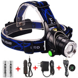 Headlamp 1800 Lumen & Rechargeable - Pro Glow Sports - 1