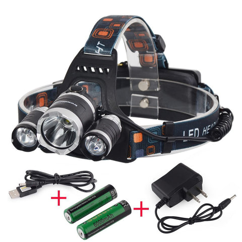 Headlamp 5000 Lumen & Rechargeable - Pro Glow Sports - 1