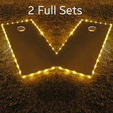 Cornhole Edge Lights - Pro Glow Sports - 3