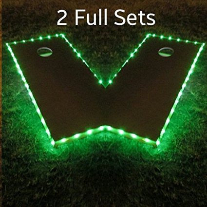 Cornhole Edge Lights - Pro Glow Sports - 4