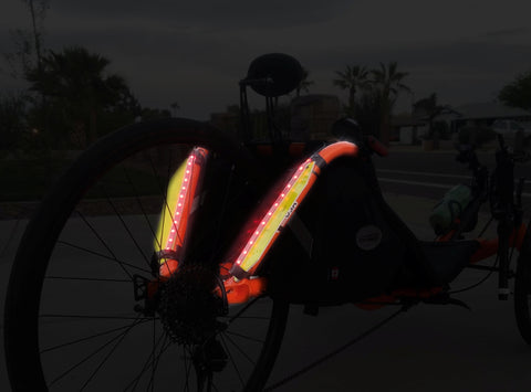 Recumbent Frame Lights