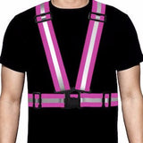 Ultra-Reflective Vest Pink - Pro Glow Sports - 1