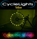 YELLOW CycleLights 4.0 - Pro Glow Sports - 4