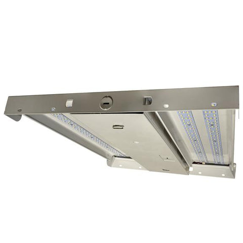 100W High Bay LED Lighting - 13910Lm - 0-10V Dimmable, ETL & DLC Premium - Linear High Bay - Damp Location Rated- LED Warehouse Lights