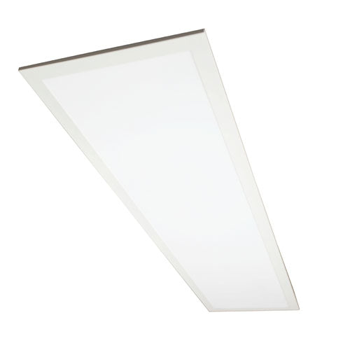 1x4 FT 32W Flat LED Troffer Panel Light 0-10V Dimmable Drop Ceiling Flat Panel Recessed Back-Lit Troffer Fixture Rebate Programs Eligible UL & DLC