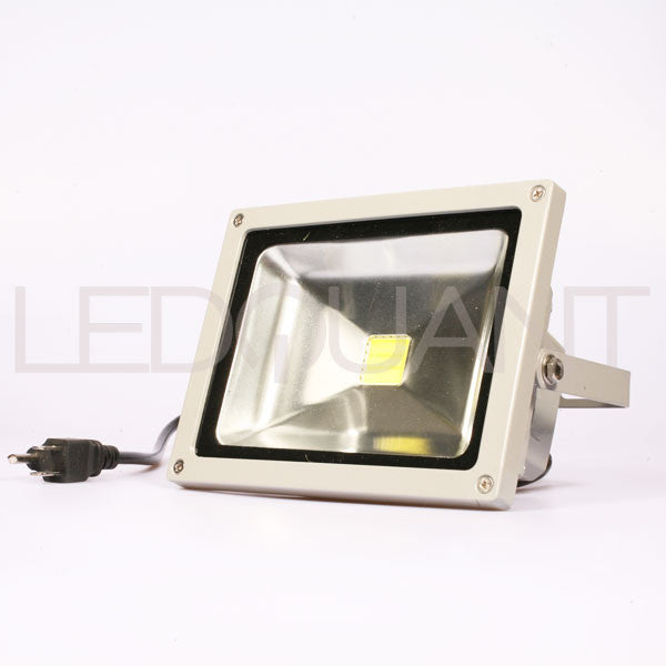 20 Watt LED Flood Light, Wall Washer Light with Plug, Cool White