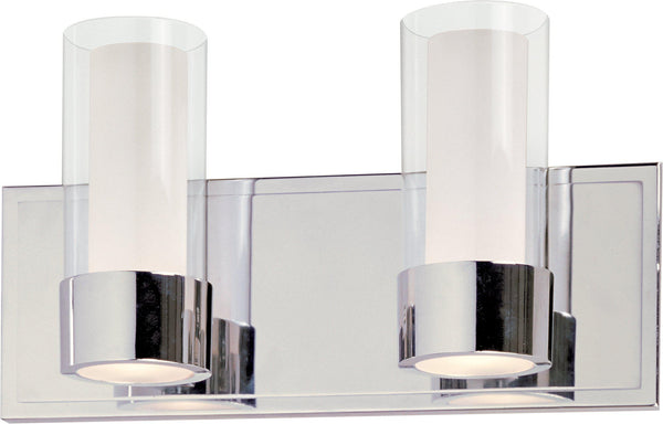 Silo 2-Light Bath Vanity With LED Bulbs