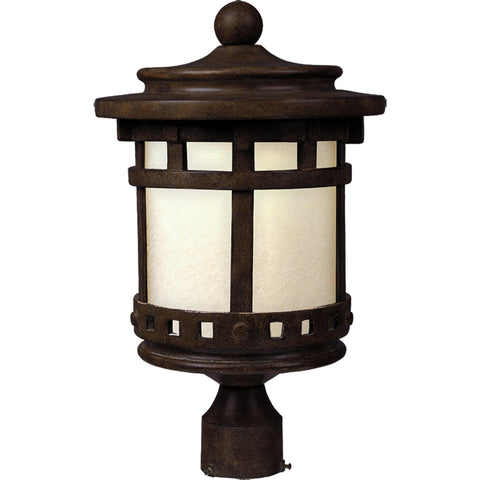 Santa Barbara LED 1-Lt Outdoor Pole/Post Lantern