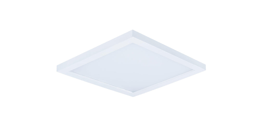 "Wafer LED 6.25"" SQ 3000K Wall/Flush Mount"