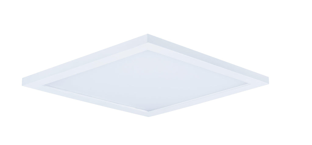 "Wafer LED 15"" SQ 3000K Flush Mount"