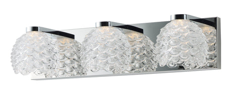 Fringe LED 3-Light Bath Vanity