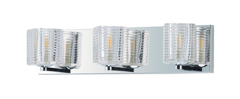 Groove LED 3-Light Bath Vanity