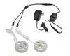 LEDQuant Set of 2 LED Dimmable Under Cabinet Lighting Kit - 3Watt LED Puck Lights