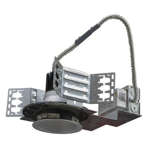 4 INCH ARCHITECTURAL LED RECESSED DOWNLIGHT KIT, COMMERCIAL GRADE, REFLECTOR TRIM AND FRAME, UL, ENERGY STAR