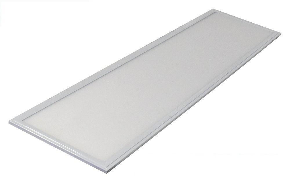 1x4 FT 40W Flat LED Troffer Panel Light 0-10V Dimmable Drop Ceiling Flat Panel Recessed Edge-Lit Troffer Fixture Rebate Programs Eligible ETL & DLC