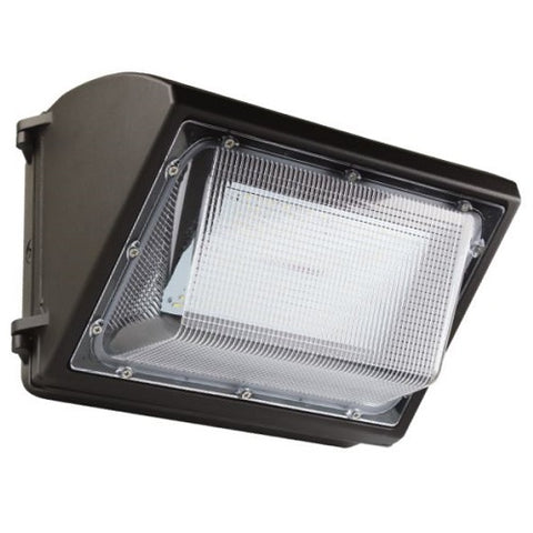 LED Traditional Wall Pack 120W, Polycarbonate Lens, UL, DLC Premium