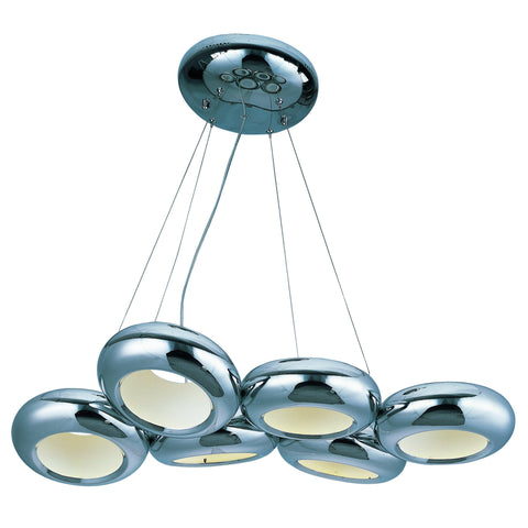 Donuts 6-Light LED Pendant