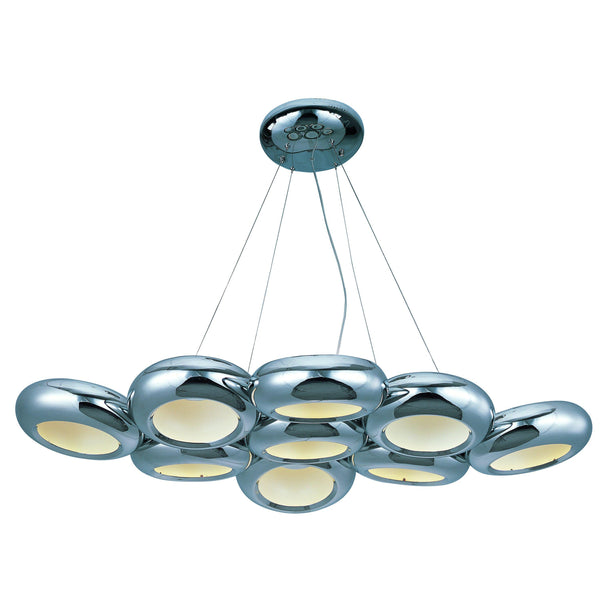 Donuts 9-Light LED Pendant