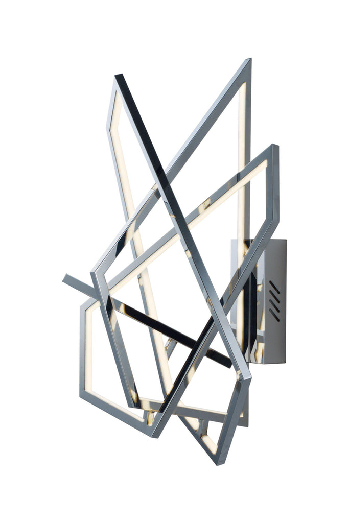 Trapezoid LED Wall Sconce