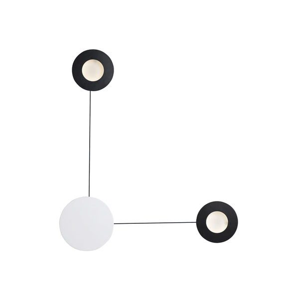 Orbital 2-Light LED Wall Sconce