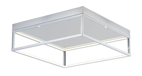 4 Square Flush Mount