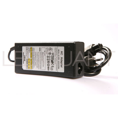 12V 6A AC/DC Power Adapter with 3-Prong Plug for 3528 5050 RGB SMD LED Strips
