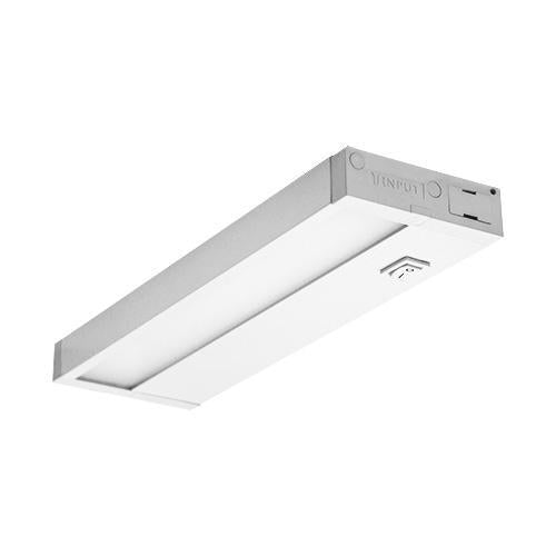 "Dimmable Hardwired Under Cabinet LED Lighting, Linkable, UL Listed, Edge lit Technology, Warm White(2700k), White Finished 8"" to 48"""