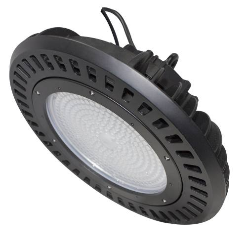 200W LED Round High Bay Light Fixture 25042lm 0-10V dimmable UL & DLC Listed Indoor Commercial Warehouse/Workshop/Wet Location Area Light