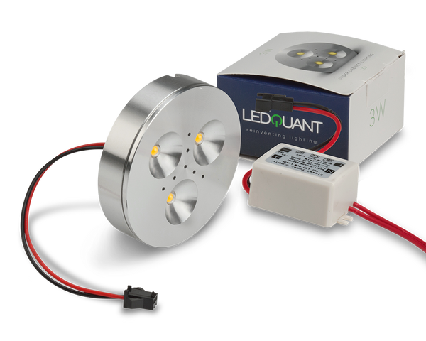 Ledquant 3 Watt Dimmable Under Cabinet Led Light With