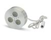 LEDQuant Set of 3 LED Dimmable Under Cabinet Lighting Kit - 3Watt LED Puck Lights, UL-listed