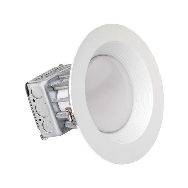 LEDQuant 8 Inch Junction Box LED Downlight 25W (150W Equivalent) ENERGY STAR 2000 Lumens Wet Rated Recessed Ceiling Light 120V No-Can ETL Listed