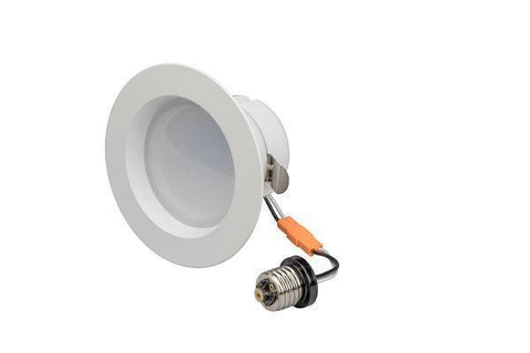 "LEDQuant  10Watt 4""Inch ENERGY STAR ETL Dimmable LED Downlight Retrofit Baffle Recessed Lighting Kit Fixture 3000K Warm light LED Ceiling Light 650LM"